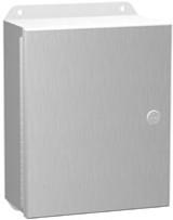 EJ12108AL | 12 x 10 x 8 Hammond Manufacturing Eclipse Junior Aluminum Enclosure (w/Panel)