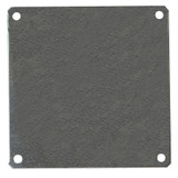 PLA88   Allied Moulded Products Aluminum Back Panel (For 8 x 8 Enclosures)