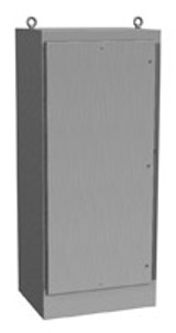 1418N4SSX24QT | Hammond Manufacturing 72 x 31 x 24 Freestanding Enclosure