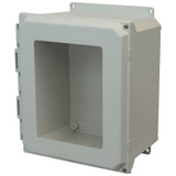 AMU1206HWF | Allied Moulded Products 12 x 10 x 6  Hinged 2-Screw Window Cover