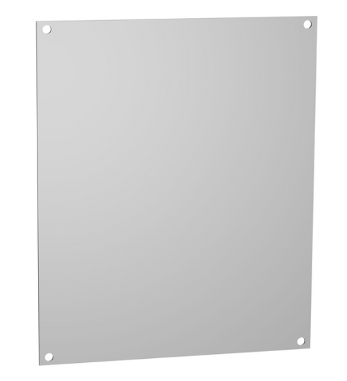 14R1307 | 12.9 x 6.9 Hammond Manufacturing Steel Back Panel White (For 14 x 8 Enclosures)