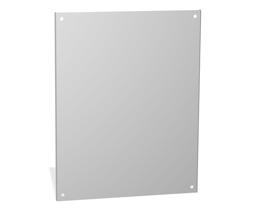 18P3333S16 | 33 x 33 Stainless Steel Back Panel