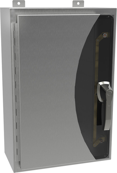 HW603616S16HK | Hammond Manufacturing 48 x 36 x 16 Stainless Steel Hinged Lockable Enclosure