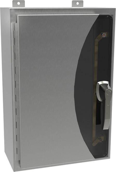 HW24208SSHK | 24 x 20 x 8 NEMA 4X Wallmounted Enclosure