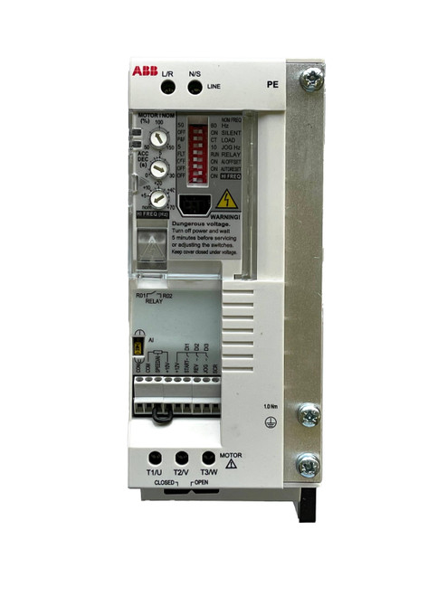 ACS55-01E-02A2-1 | ABB AC Variable Frequency Drive (0.5 HP, 2.2 Amps)