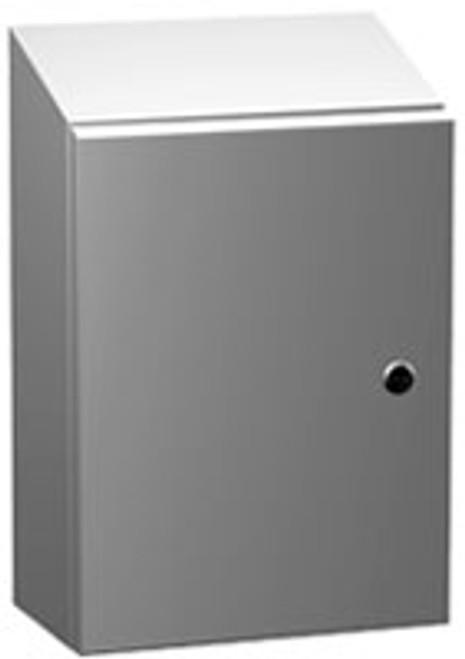 ST483610LG | 48 x 36 x 10  Eclipse Slope Top Enclosure
