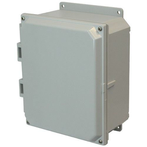 PCJ864F | Hammond Manufacturing 8 x 6 x 4 Junction Box 4-Screw Lift-Off Cover
