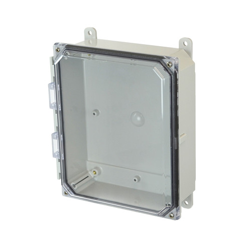 PCJ1082CC | Hammond Manufacturing 10 x 8 x 2  Junction Box 4-Screw Lift-Off Cover
