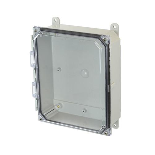 PCJ1082CC   Hammond Manufacturing 10 x 8 x 2  Junction Box 4-Screw Lift-Off Cover