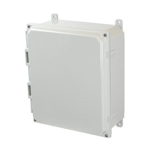 PCJ12104   Hammond Manufacturing 12 x 10 x 4 Junction Box 4-Screw Lift-Off Cover