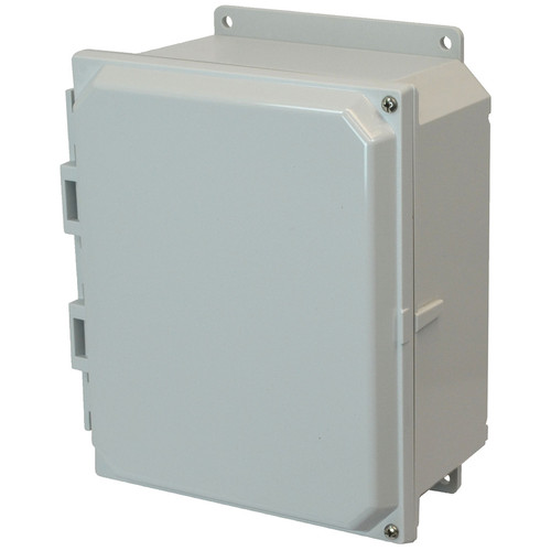 PCJ1084HF | Hammond Manufacturing 10 x 8 x 4 Hinged 2-Screw Junction Box Cover