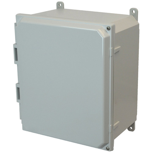 PCJ12106H | Hammond Manufacturing 12 x 10 x 6 Hinged 2-Screw Junction Box Cover