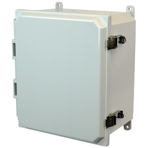 PCJ16148L | Hammond Manufacturing 16 x 14 x 8 Hinged Metal Snap Latch Junction Box Cover