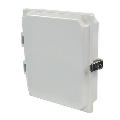 AMHMI108L | 10 x 8 x 1 HMI Cover Kit with hinged cover and snap latch