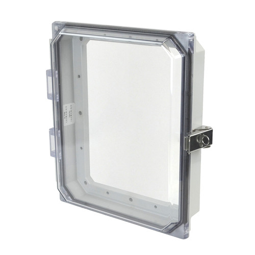 AMHMI108CCL | Allied Moulded 10 x 8 Metal Snap Latch Hinged Cover