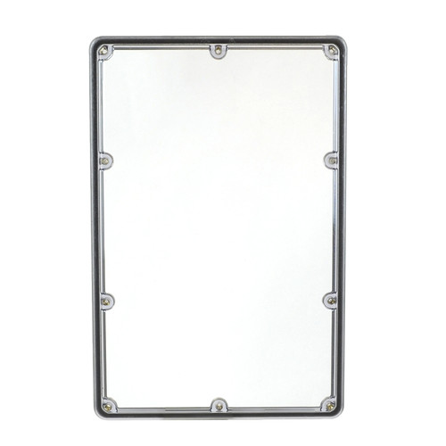 AMHMI138CX | Allied Moulded Products 13 x 8 Lift-Off 10-Screw  Clear Cover Inspection Window