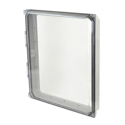 AMHMI164CCH | Allied Moulded 16 x 14 Hinged 2-Screw Clear Cover