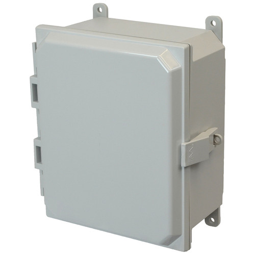 PCJ864NL   Hammond Manufacturing 8 x 6 x 4 Hinged Nonmetal Snap Latch  Junction Box Cover