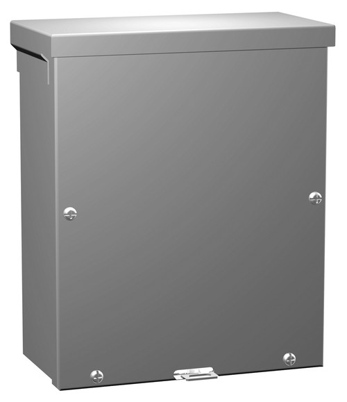 C3R10104SCNKO | 10 x 10 x 4 Screw Cover Without Knockouts