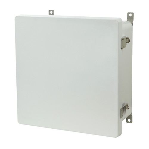 AM1226L - Metal Snap Latch Hinged Cover Enclosure