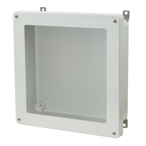 AM1224W - Lift-Off 4-Screw Window Cover Enclosure
