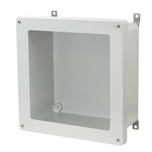AM1226W - Lift-Off 4-Screw Window Cover Enclosure