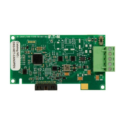 DXG-NET-CANOPEN   Eaton Communication Card