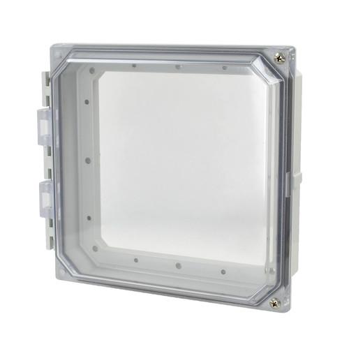 AMHMI88CCH | Hinged 2-Screw Clear Cover  8 x 8 HMI Cover Kit | Wistex II, LLC