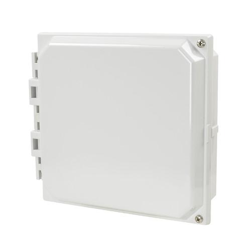 AMHMI88H | Hinged 2-Screw Solid/Opaque Cover 8 x 8 HMI Cover Kit | Wistex II, LLC