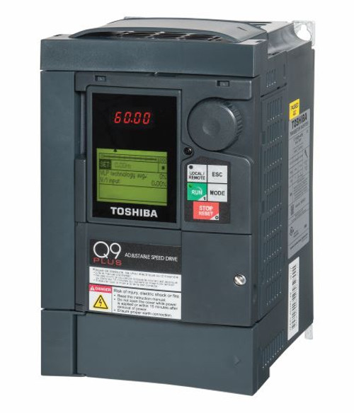 Q9+2025IER3   Toshiba Adjustable Speed Drive (2 HP, 7.8 Amps)