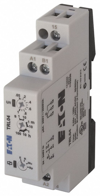 TRL04 | Multi-Function Time Delay Relay | 24 to 240VAC/DC Coil Volts