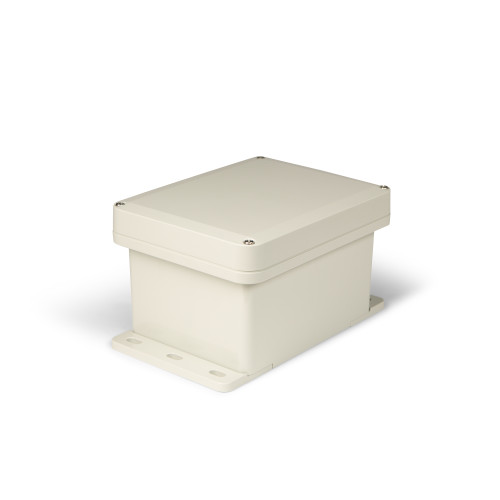 UPCG080604F   Ensto 8 x 6 x 4 Polycarbonate enclosure with 4-screw lift-off cover