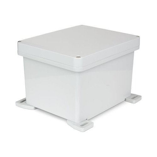 UPCG100806 | Ensto 10 x 8 x 6 Polycarbonate Enclosure with 4-Screw Lift-Off Cover