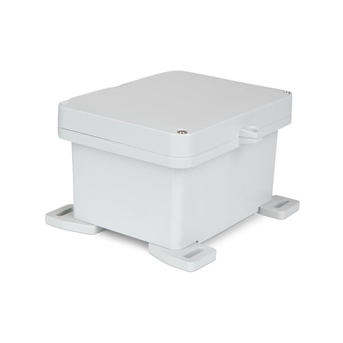 UPCG080604HS | Ensto 8 x 6 x 4 Polycarbonate Enclosure with 2-Screw Hinged Cover