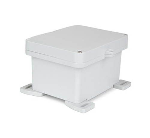 UPCG100806HS | Ensto 10 x 8 x 6 Polycarbonate Enclosure with 2-Screw Hinged Cover