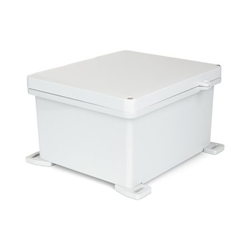 UPCG121006HS | Ensto 12 x 10 x 6 Polycarbonate Enclosure with 2-Screw Hinged Cover