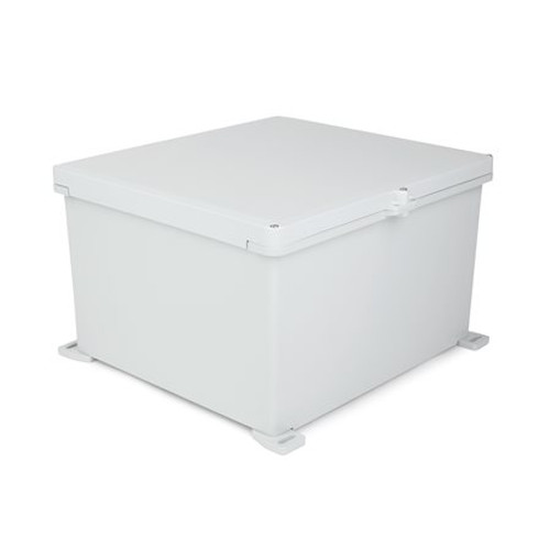 UPCG181610HS | Ensto 18 x 16 x 10 Polycarbonate Enclosure with 3-Screw Hinged Cover