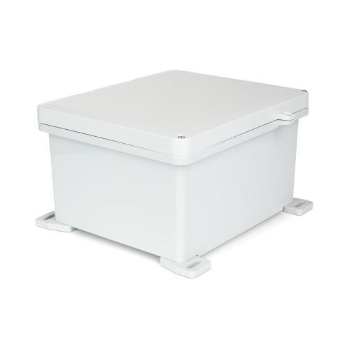 UPCG121006HSF | Ensto 12 x 10 x 6 Polycarbonate enclosure with 2-screw hinged cover