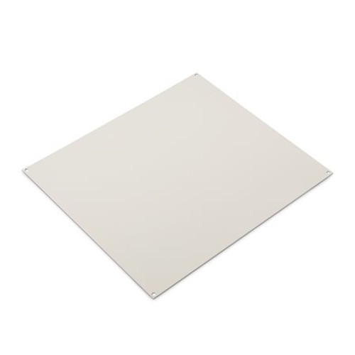 UBP0806ZW | Ensto 8 x 6 White Painted Steel Back Panel