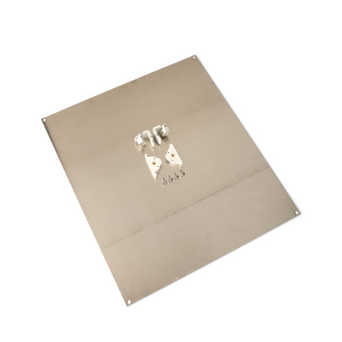 UHFK1816A | Ensto 18 x 16 Aluminum hinged front panel kit for use with 18in x 16in enclosures