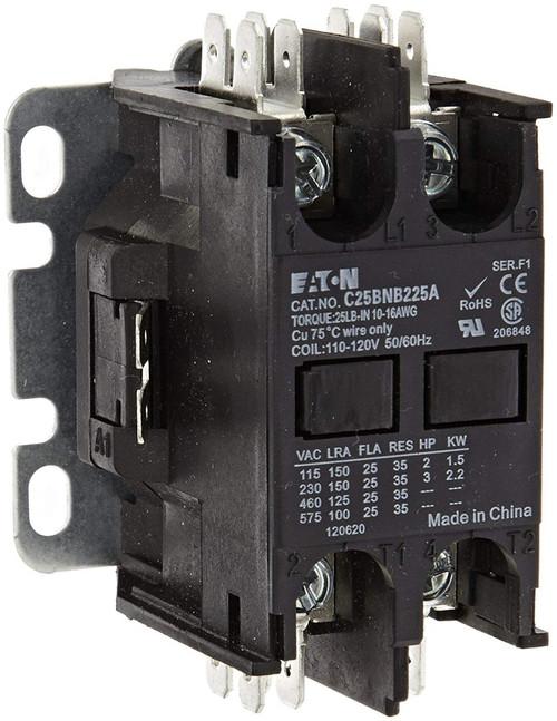 C25BNB225T | EATON Definite Purpose Contactor (25A