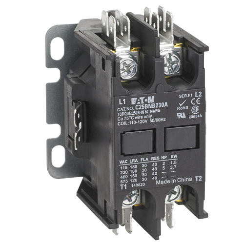 C25BNB230A | Definite Purpose Contactor (30A, 110-120V AC, 50/60Hz)