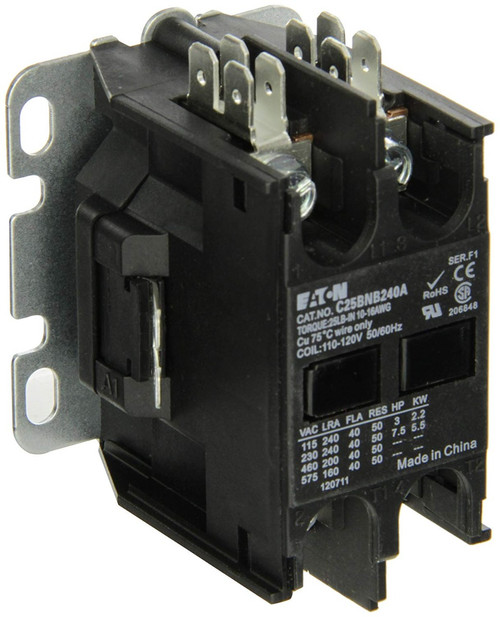 C25BNB240C | EATON Definite Purpose Contactor (40A