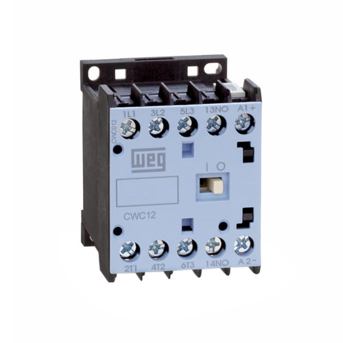 CWC09-10-30C12 | Weg 3-Pole Miniature Contactor w/ DC Coil (110VDC)