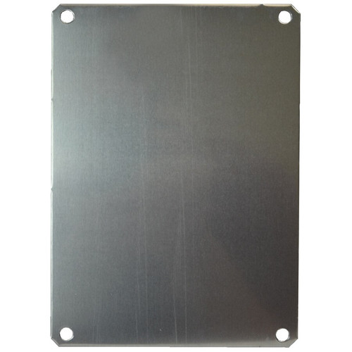 PLA142 | Allied Moulded Products Aluminum Back Panel (For 14 x 12 Enclosures)