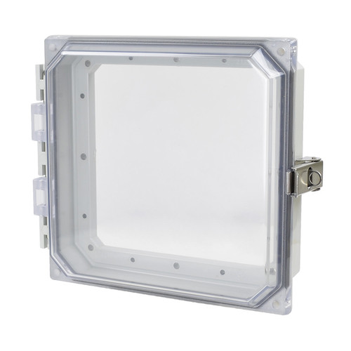 AMHMI66CCL | Allied Moulded Products HMI Cover Kit with hinged clear cover and snap latch