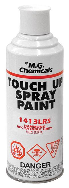 1413BKLGS | Hammond Manufacturing 12 oz. Spray Can (Black - Low Gloss)