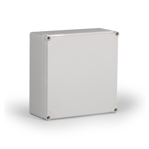 OPCP303013G.U   Ensto 11.81 x 11.81 x 7.36 Polycarbonate enclosure with 4-screw lift-off cover