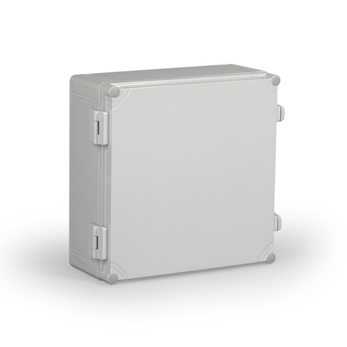 WPCP303018G.U   Ensto 11.81 x 11.81 x 7.36 Polycarbonate enclosure with hinged cover and nonmetal snap latch