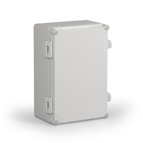 WPCP203013G.U | Ensto 7.78 x 11.81 x 5.20 Polycarbonate enclosure with hinged cover and nonmetal snap latch
